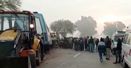 Hindistan'da katliam gibi kaza