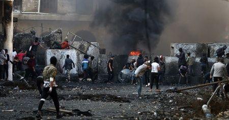 Irak'ta göstericilere yönelik saldırının meclise taşınması çağrısı