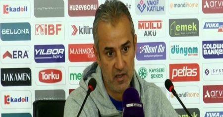 İsmail Kartal: 'Bugün sadece golü bulamadık'