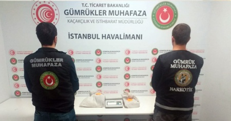 İstanbul Havalimanı'nda 1 buçuk milyonluk operasyon