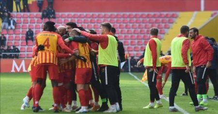 İstikbal Mobilya Kayserispor kupada kazandı