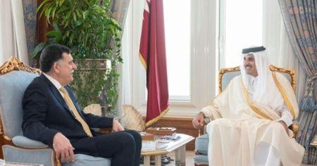 Katar, krizin aşılması konusunda Libya'ya desteğini yineledi