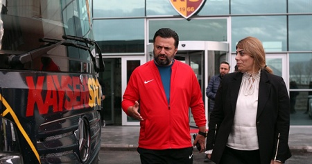 Kayserispor'un Gaziantep kadrosu