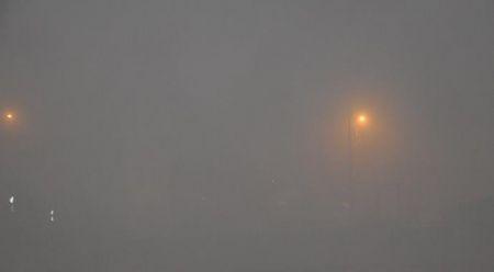Kırıkkale'de ulaşıma etkili sis engeli