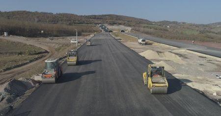 Kuzey Marmara Otoyolu'nda çalışmaların yüzde 85'i tamamlandı