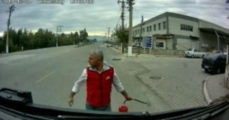 Örnek şoförden, örnek davranış