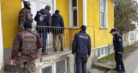 Paniğe neden olan saldırgan polisi alarma geçirdi