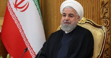 Ruhani'den 'kırmızı çizgileri aşmadan müzakereye hazırız' mesajı