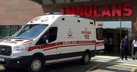Sobadan sızan gazdan zehirlenen 4 kişi tedavi altına alındı