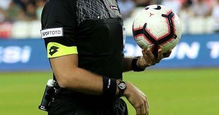 Süper Lig'de 15. hafta hakemleri açıklandı