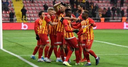 Süper Lig'de haftanın kapanış maçını İM Kayserispor kazandı