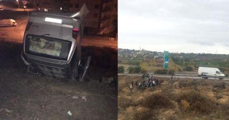 Tarsus'ta trafik kazası: 5 yaralı