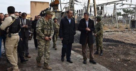Telabyad ve Resülayn merkezine elektrik verilmeye başladı
