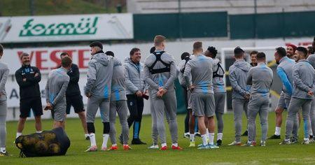 Trabzonspor, Denizlispor maçı hazırlıklarını tamamladı