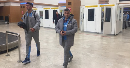 Trabzonspor yurda döndü