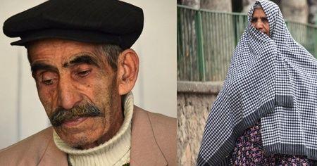 Yaşlı çifti ölüm bile ayırmadı