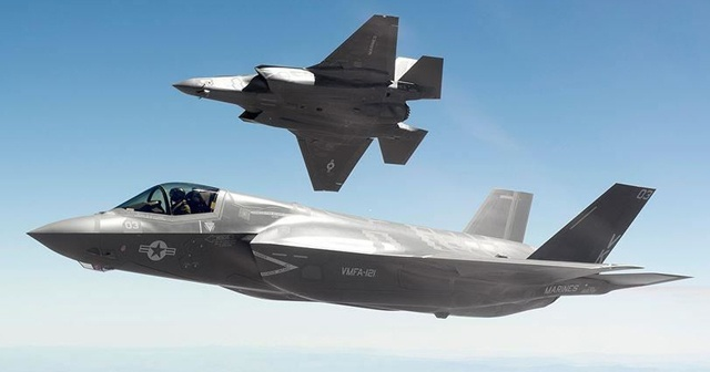 32 adet F-35 uçağı için 4.6 milyar dolarlık anlaşmaya imza attılar