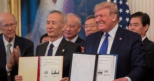 ABD ile Çin, birinci faz ticaret anlaşmasını imzaladı