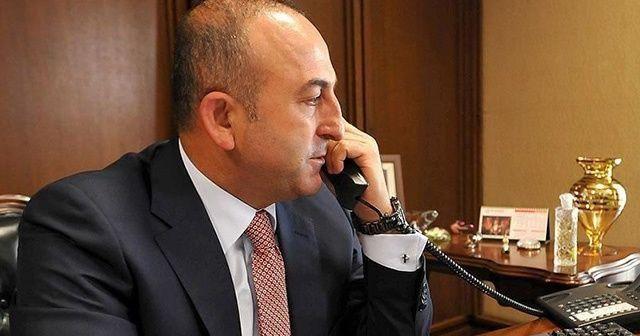 Bakan Çavuşoğlu, ABD Dışişleri Bakanı Mike Pompeo ile görüştü