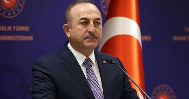 Bakan Çavuşoğlu: 'Kendi halkını bombalayan savaş baronlarının Libya'nın geleceğinde yeri olamaz'
