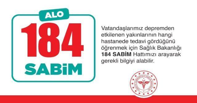 Bakan Koca: 'Vatandaşlarımız 184'ten yakınlarına ulaşabilirler'