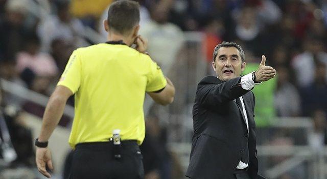 Barcelona, Ernesto Valverde'yi görevden aldı