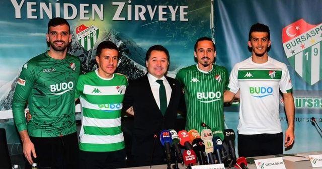 Bursaspor kadrosuna 4 futbolcu kattı!