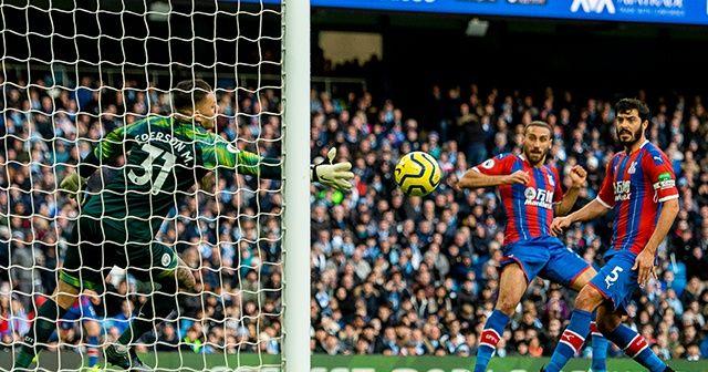 Cenk Tosun, Crystal Palace formasıyla ilk golünü M. City'e attı