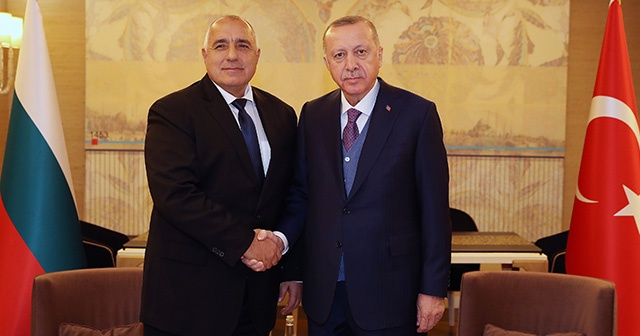 Cumhurbaşkanı Erdoğan, Bulgaristan Başbakanı Borisov'u kabul etti