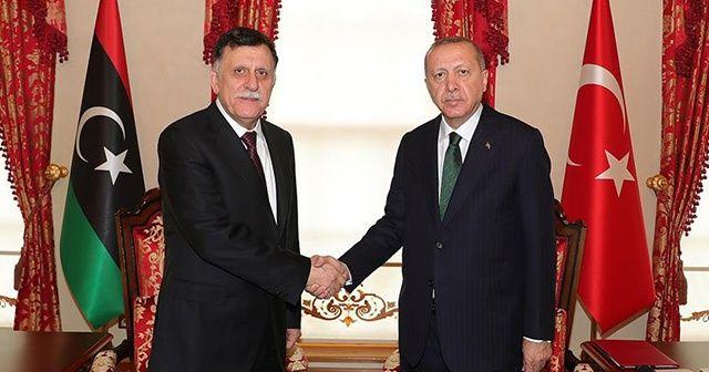 Cumhurbaşkanı Erdoğan, Serrac görüşmesi sona erdi
