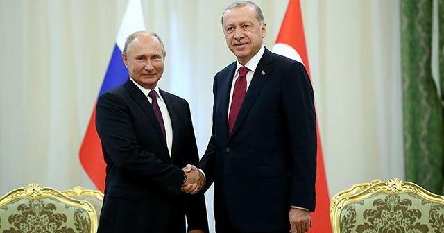 Cumhurbaşkanı Erdoğan ve Putin'den ateşkes çağrısı