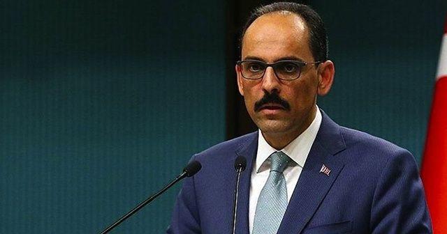 Cumhurbaşkanlığı Sözcüsü Kalın'dan deprem açıklaması
