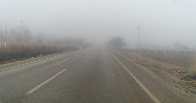 Denizli'de yoğun sis