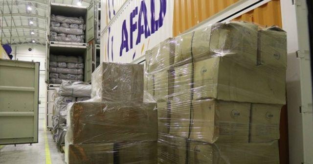 Depremzedeler için 6 tır yatak Malatya'ya gönderildi