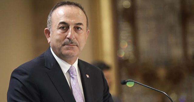 Dışişleri Bakanı Çavuşoğlu BM Genel Sekreteri Guterres ile görüştü
