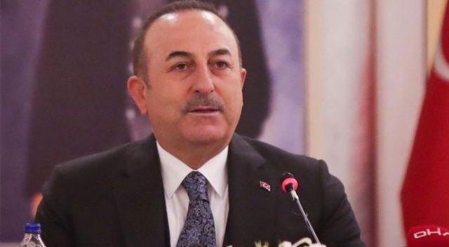 Dışişleri Bakanı Çavuşoğlu'ndan şehit askerler için başsağlığı