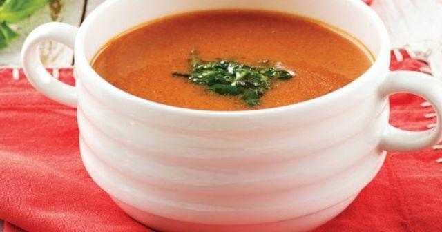 Domates çorbası tarifi ve Domates çorbası yapımı ve Domates çorbası nasıl yapılır