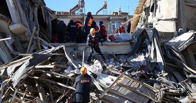 Elazığ'daki deprem nedeniyle taziye ve destek mesajları