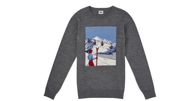 Erkeklere özel kayak temalı tasarımlar
