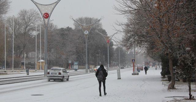 Erzincan'da karla karışık yağmur ve kar yağışı bekleniyor