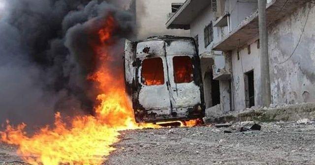 Esad ve Rus uçakları Eriha'yı vurdu: 8 yaralı