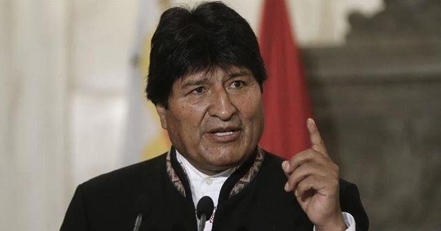 Evo Morales'ten Bolivya hükümetini kızdıran sözler