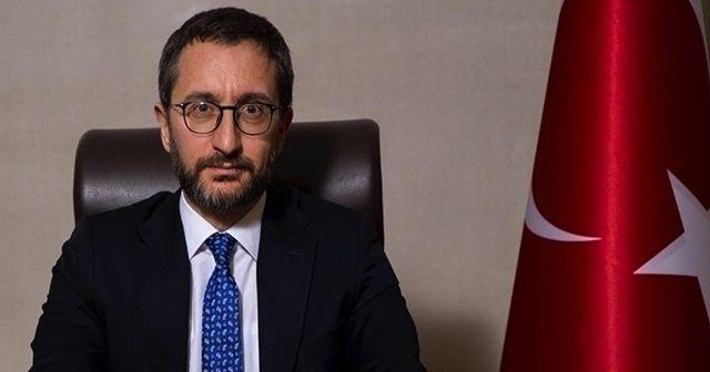 Fahrettin Altun'dan basın kartı başvurularına ilişkin açıklama