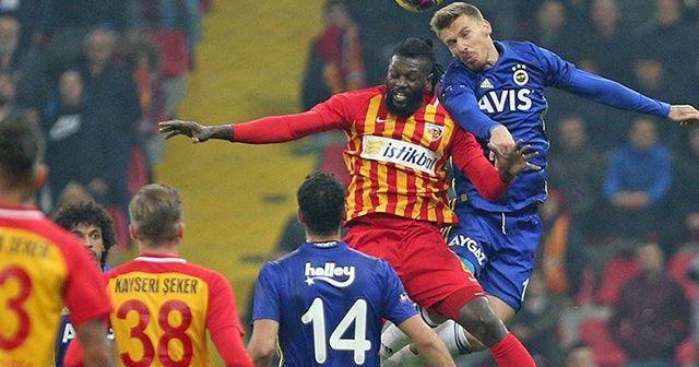 Fenerbahçe Ziraat Türkiye Kupası'nda Kayserispor'a konuk olacak
