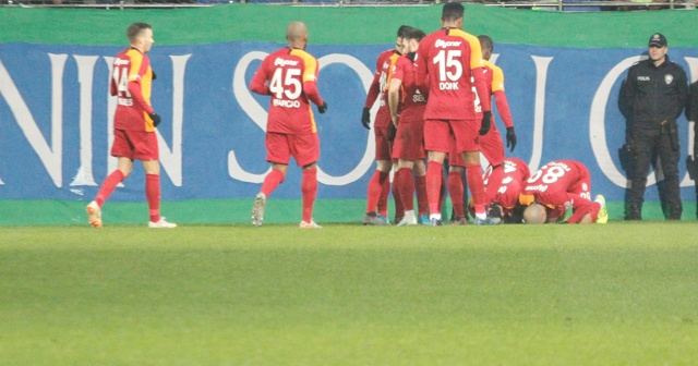 Galatasaray deplasmandan avantajla döndü