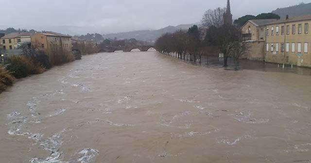 Gloria fırtınası Fransa'yı vurdu