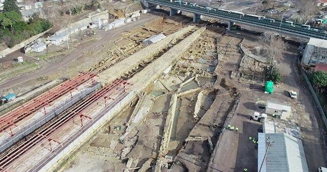 Haydarpaşa'da rayların altından tarihi liman şehri çıkmıştı: Anadolu tarihine ışık tutuyor