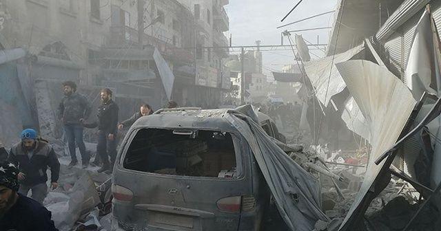 İdlib'de hava saldırısında 26 sivil hayatını kaybetti