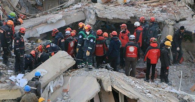 Irak ve Gazze'den Elazığ depremi için Türkiye'ye taziye mesajı