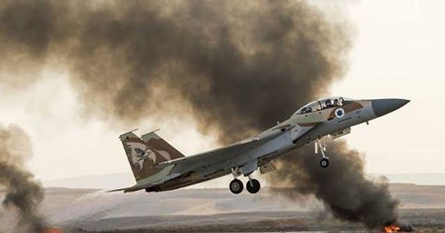 İsrail Suriye'de rejimin askeri noktasına saldırdı iddiası